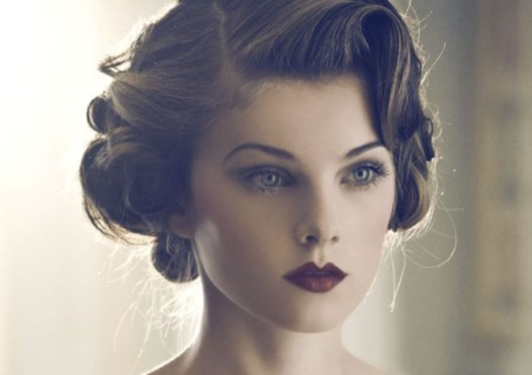 Vintage Updo Hairstyle  Sensual Retro Hairstyles for Fall 2015