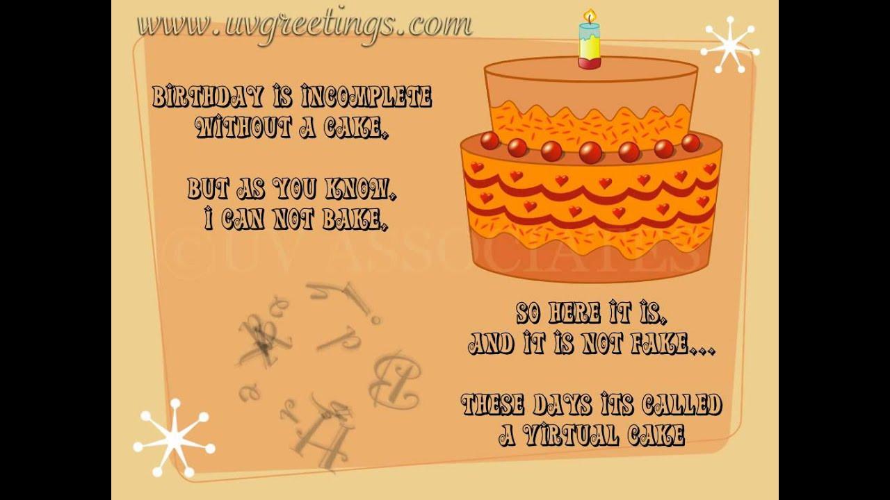 Best ideas about Virtual Birthday Cake . Save or Pin Birthday eCard Virtual Cake Now.