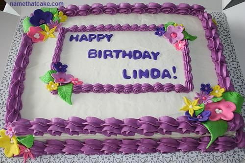 Best ideas about Virtual Birthday Cake . Save or Pin HAPPY BIRTHDAY CAKES IMAGES TO LINDA Now.