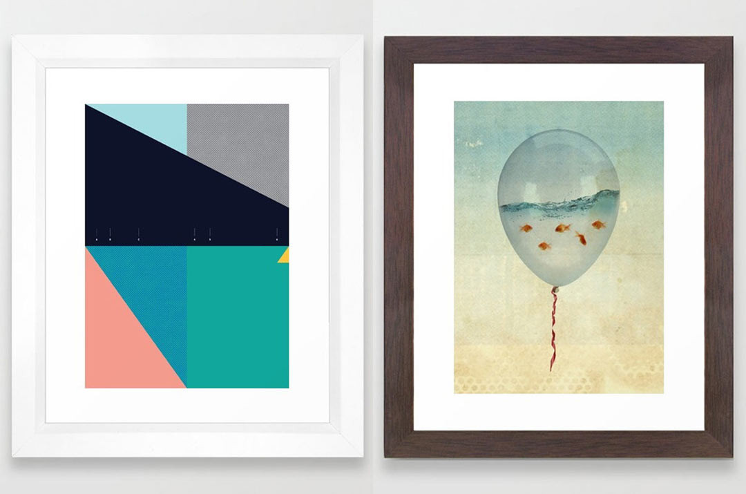 Best ideas about Wall Art Prints . Save or Pin Framed Art Prints from Society6 Design Milk Now.