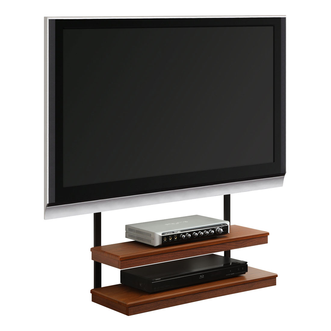 Best ideas about Wall Mount Tv Stand . Save or Pin Furniture Long Narrow Wall Mount Tv Stand With Two Now.