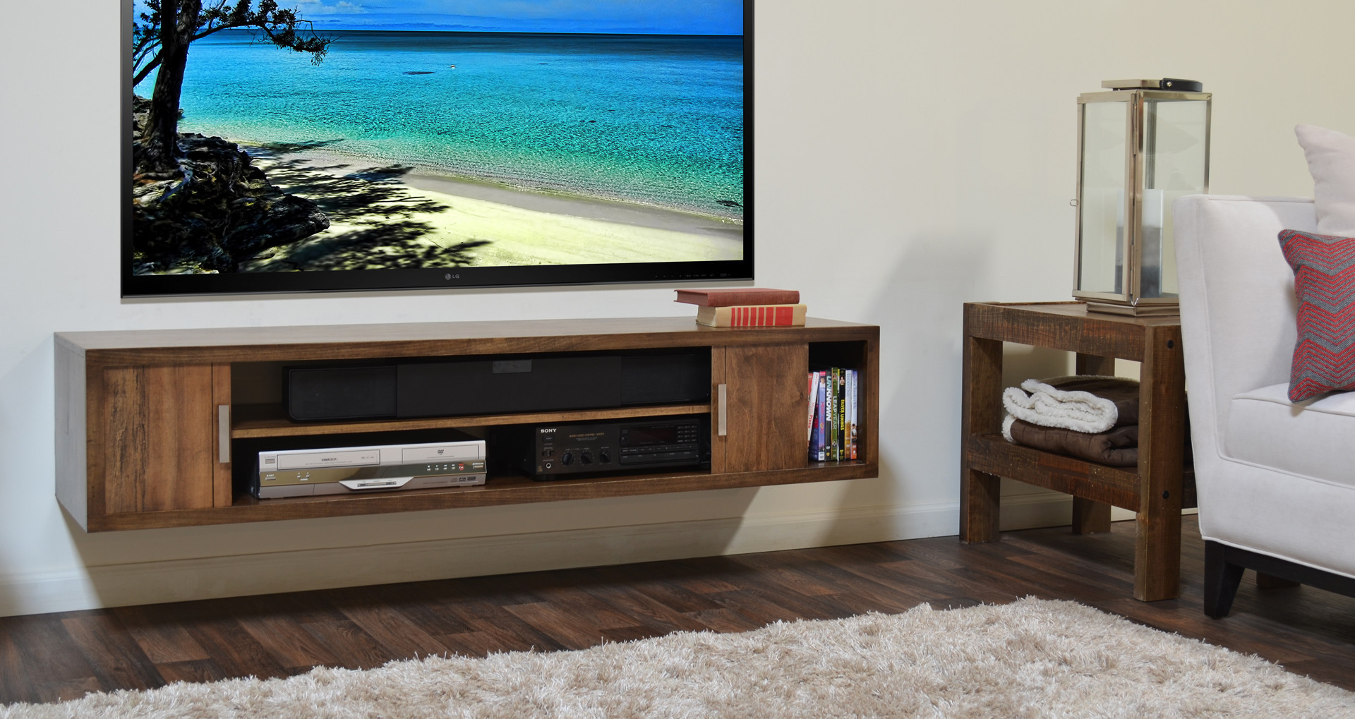 Best ideas about Wall Mount Tv Stand . Save or Pin Wall Mount Tv Stand Never Die MidCityEast Now.