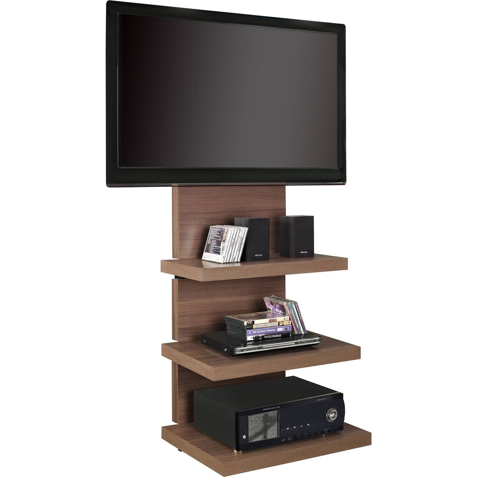 Best ideas about Wall Mount Tv Stand . Save or Pin Altra Wall Mount TV Stand with 3 Shelves for TVs up to 60 Now.