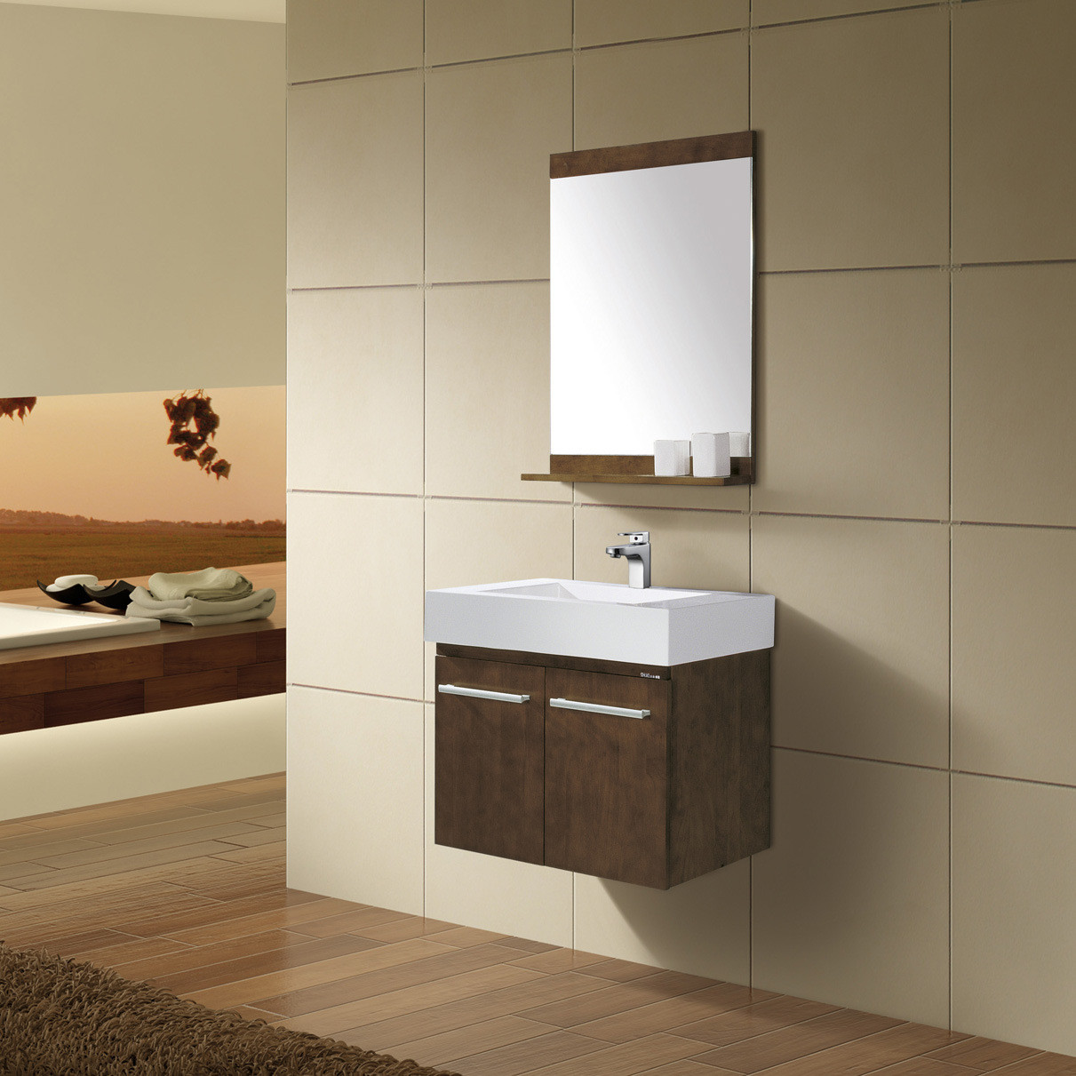 Best ideas about Wall Mounted Bathroom Cabinets . Save or Pin BATHROOM CABINET WALL Now.