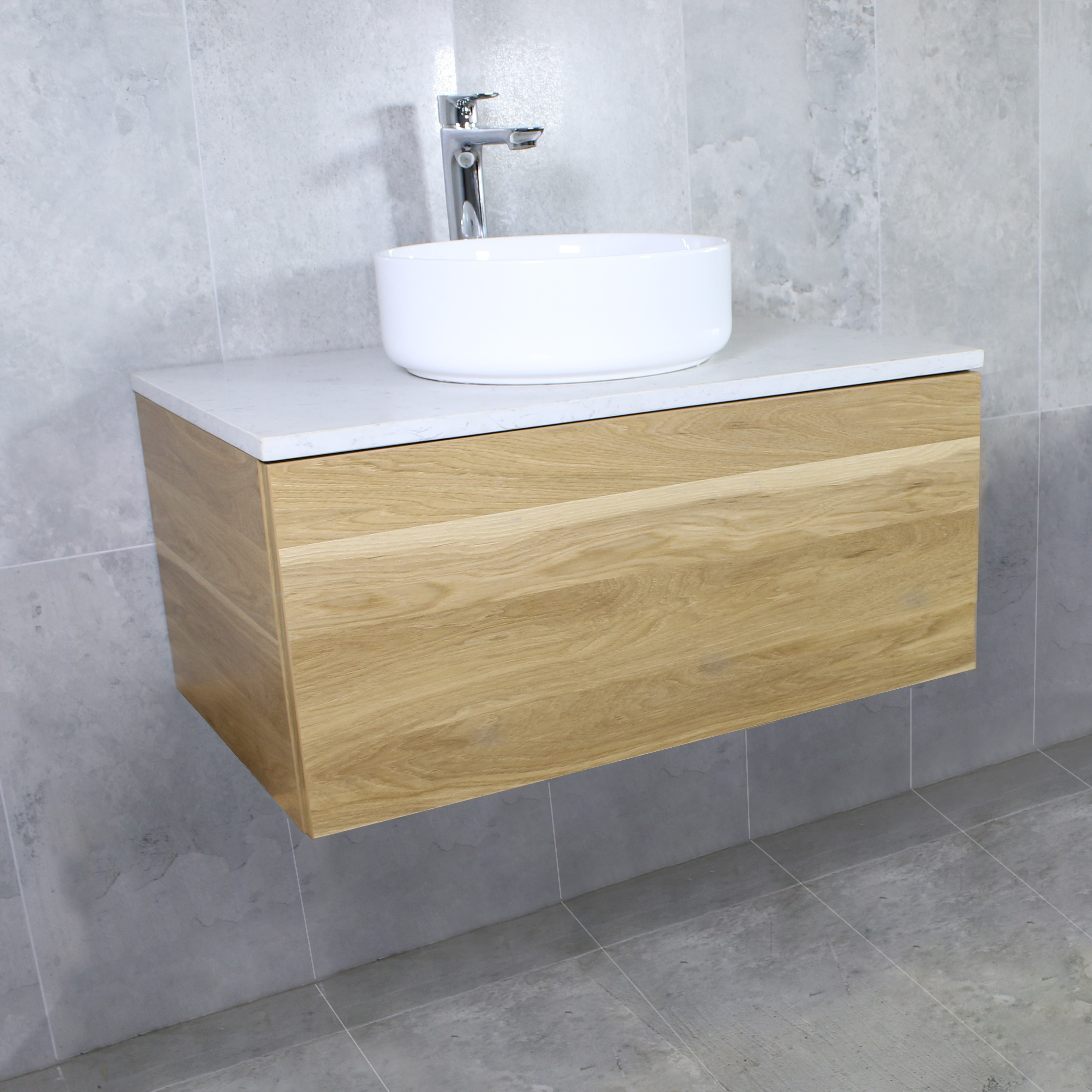 Best ideas about Wall Mounted Bathroom Cabinets . Save or Pin Eden Timber Wall Mount Vanity Cabinet without Top 750mm Now.