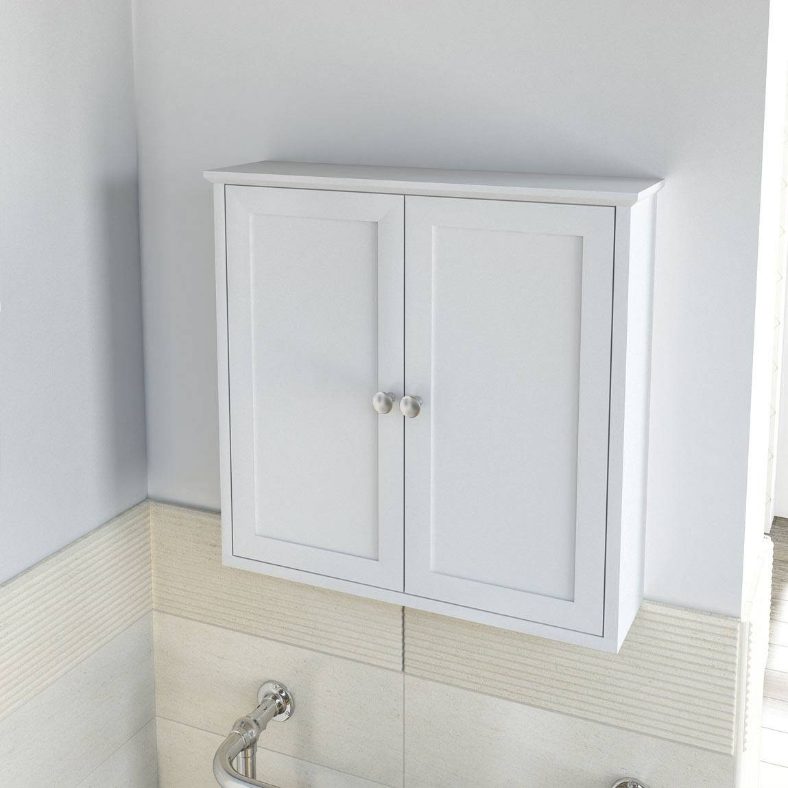 Best ideas about Wall Mounted Bathroom Cabinets . Save or Pin Wall Mounted Bathroom Storage Cabinets Now.