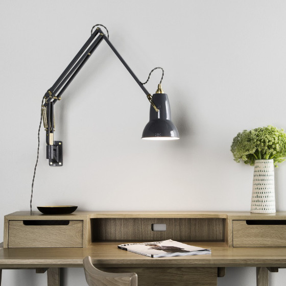 Best ideas about Wall Mounted Desk Lamps . Save or Pin The Anglepoise Original 1227 Brass Collection • Colourful Now.