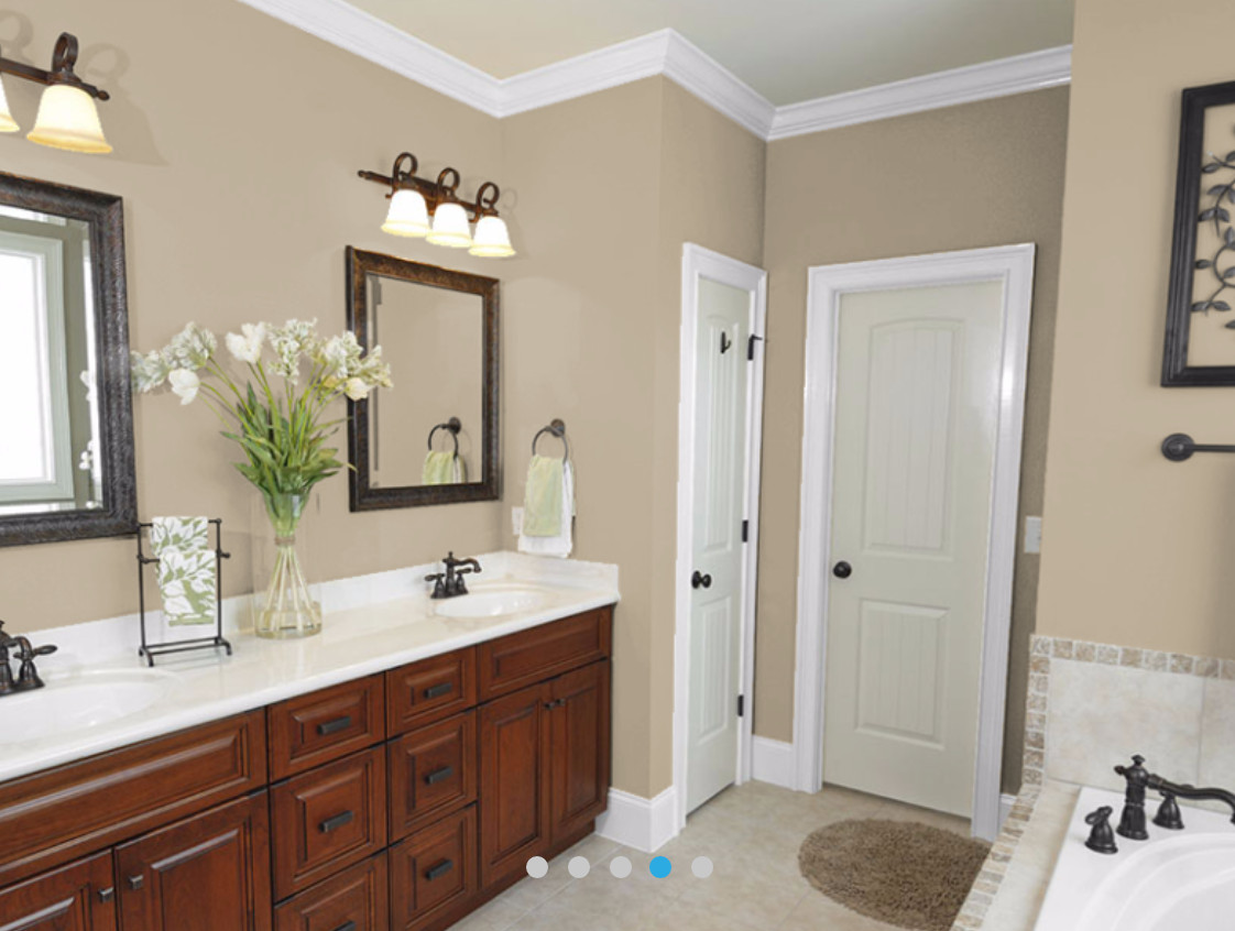 Best ideas about Wall Paint Colors . Save or Pin 1000 ideas about bathroom wall colors on pinterest Now.