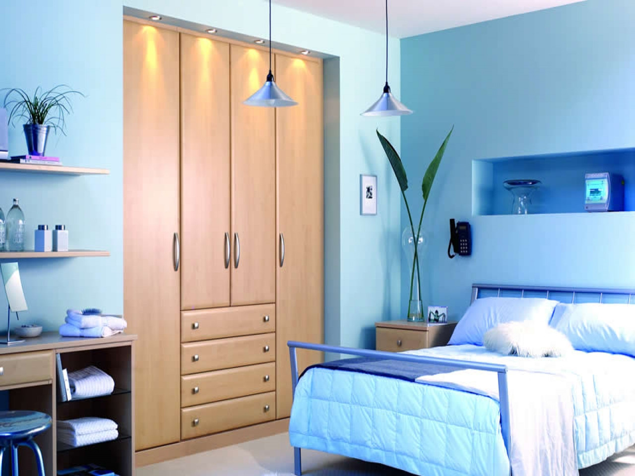 Best ideas about Wall Paint Colors . Save or Pin 10 benefits of Light blue wall paint colors Now.