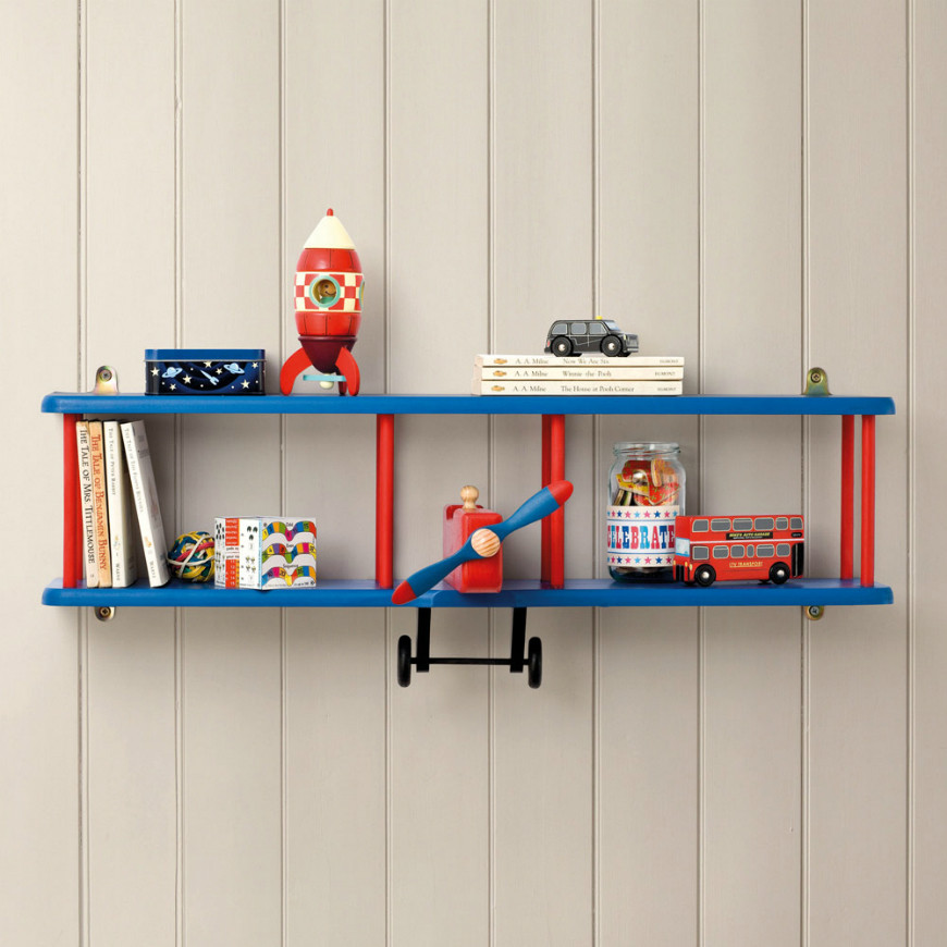 Best ideas about Wall Shelves For Kids Room . Save or Pin Really Cool Shelves For Kids' Room to Copy – Kids Bedroom Now.