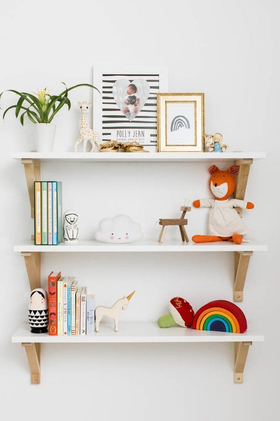 Best ideas about Wall Shelves For Kids Room . Save or Pin modern girl s room shelves Kids Room Shelf Now.