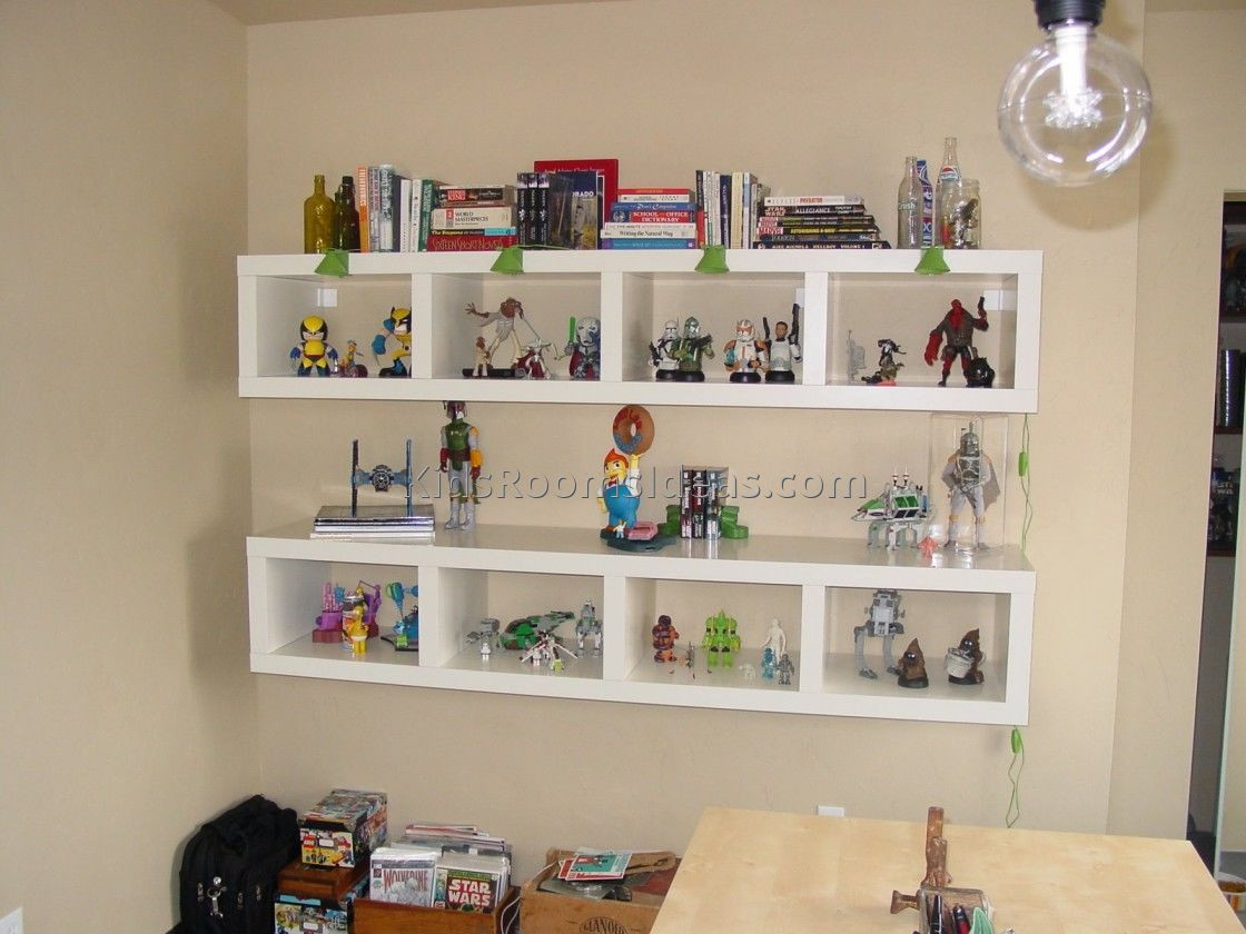 Best ideas about Wall Shelves For Kids Room . Save or Pin 46 Wall Shelves Kids Room Wall Shelf Ideas For Living Now.