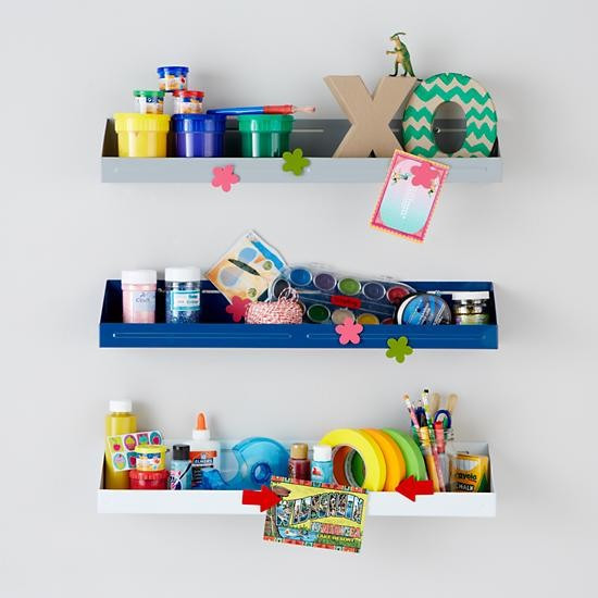 Best ideas about Wall Shelves For Kids Room . Save or Pin Up Against the Wall Bin Contemporary Display And Wall Now.