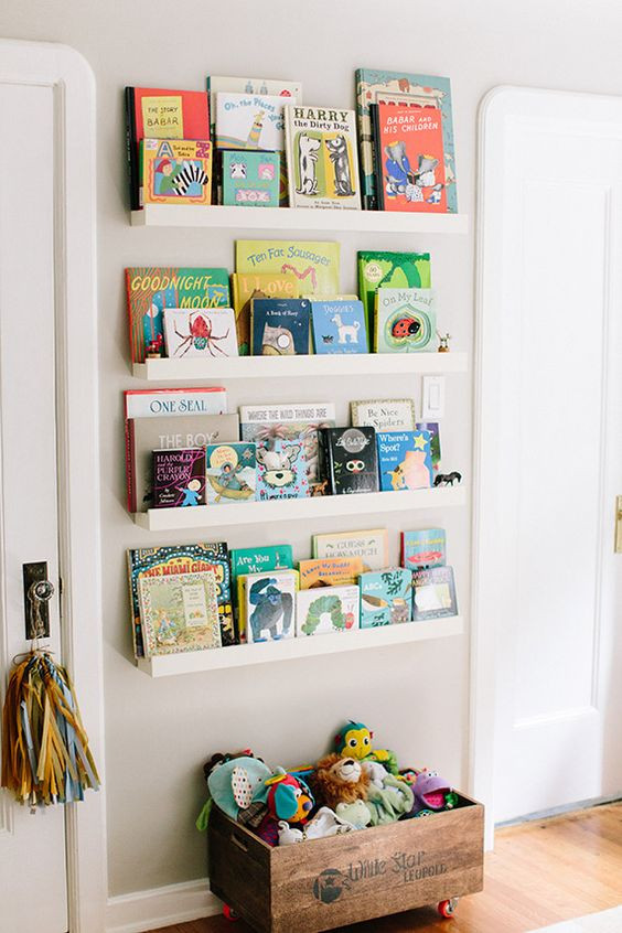 Best ideas about Wall Shelves For Kids Room . Save or Pin 25 Space Saving Kids' Rooms Wall Storage Ideas Shelterness Now.