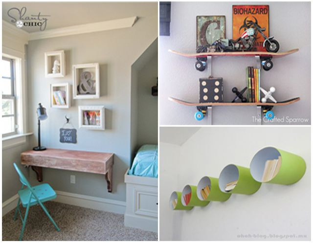 Best ideas about Wall Shelves For Kids Room . Save or Pin DIY Shelves for Nurseries and Kids Rooms Now.