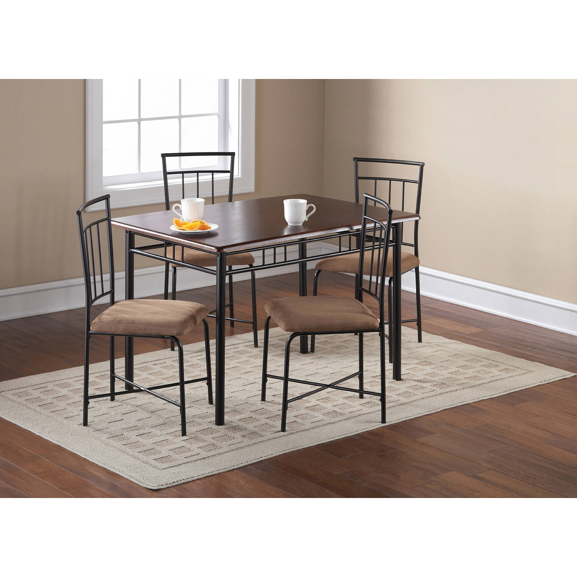 Best ideas about Walmart Dining Table Set . Save or Pin Better Homes and Gardens Cambridge Place Dining Table Now.