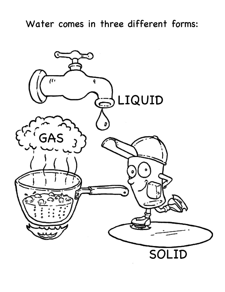 Water Coloring Books For Toddlers  6 Best of Water Cycle Worksheet Grade 2 Water