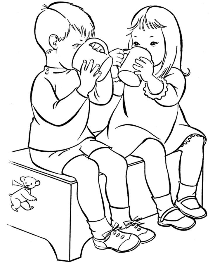 Water Coloring Books For Toddlers  28 best Drinks Coloring Pages images on Pinterest