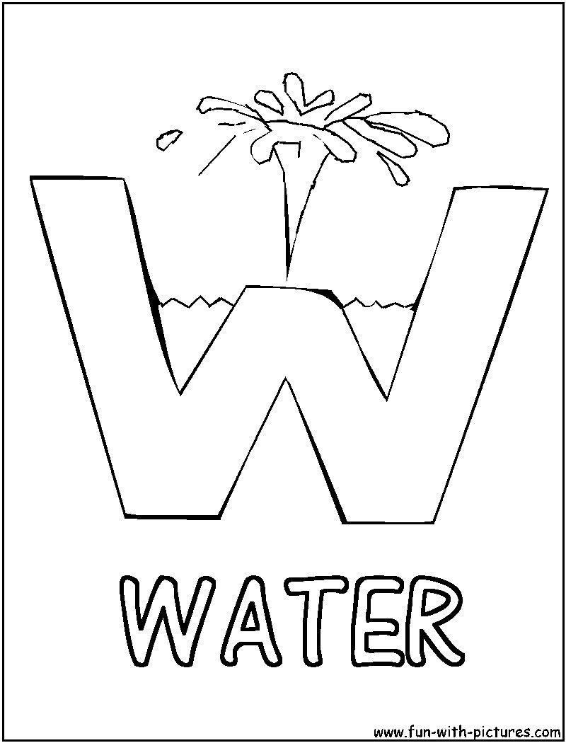 Water Coloring Books For Toddlers  water drop coloring