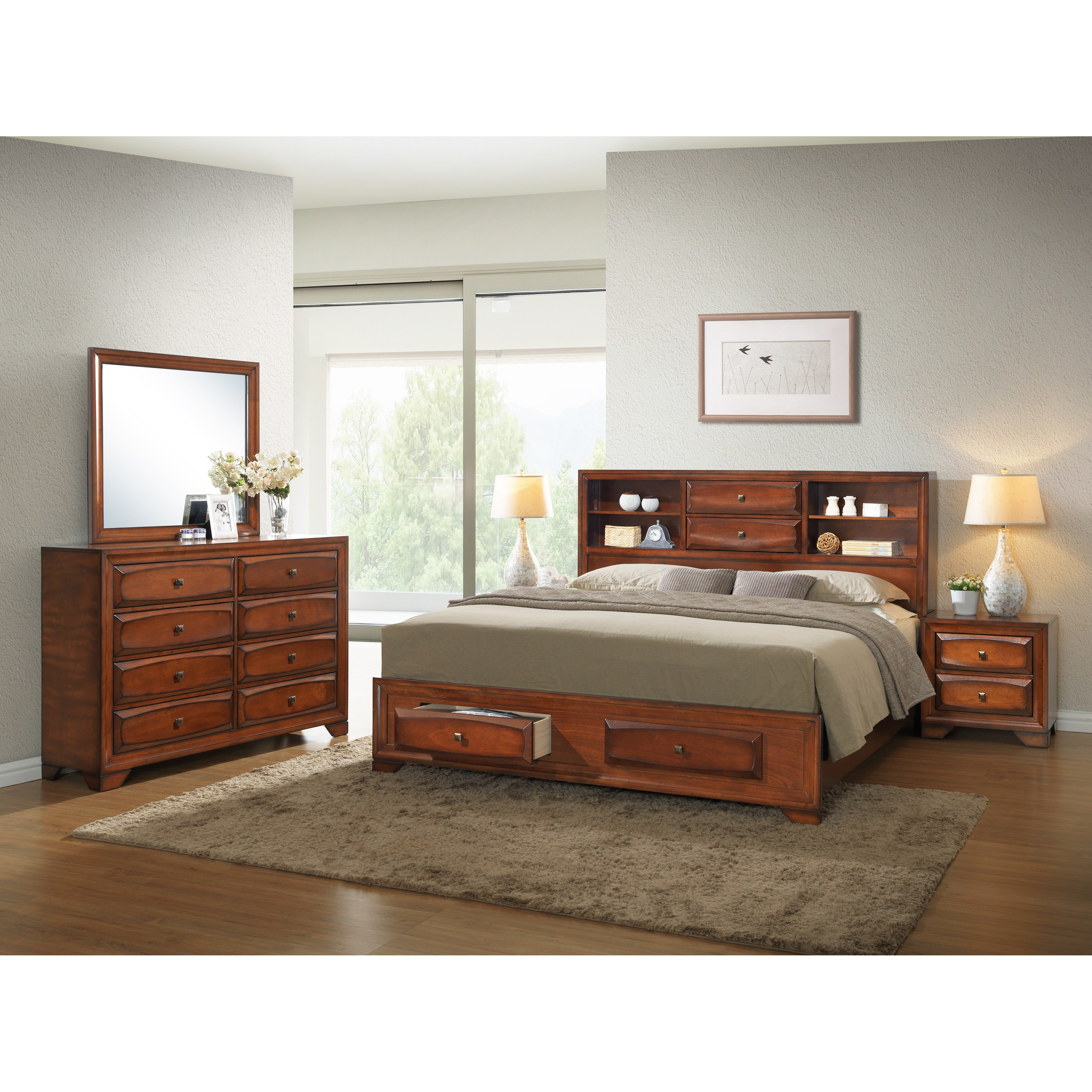 Best ideas about Wayfair Bedroom Sets . Save or Pin Roundhill Furniture Asger Queen Platform Customizable Now.