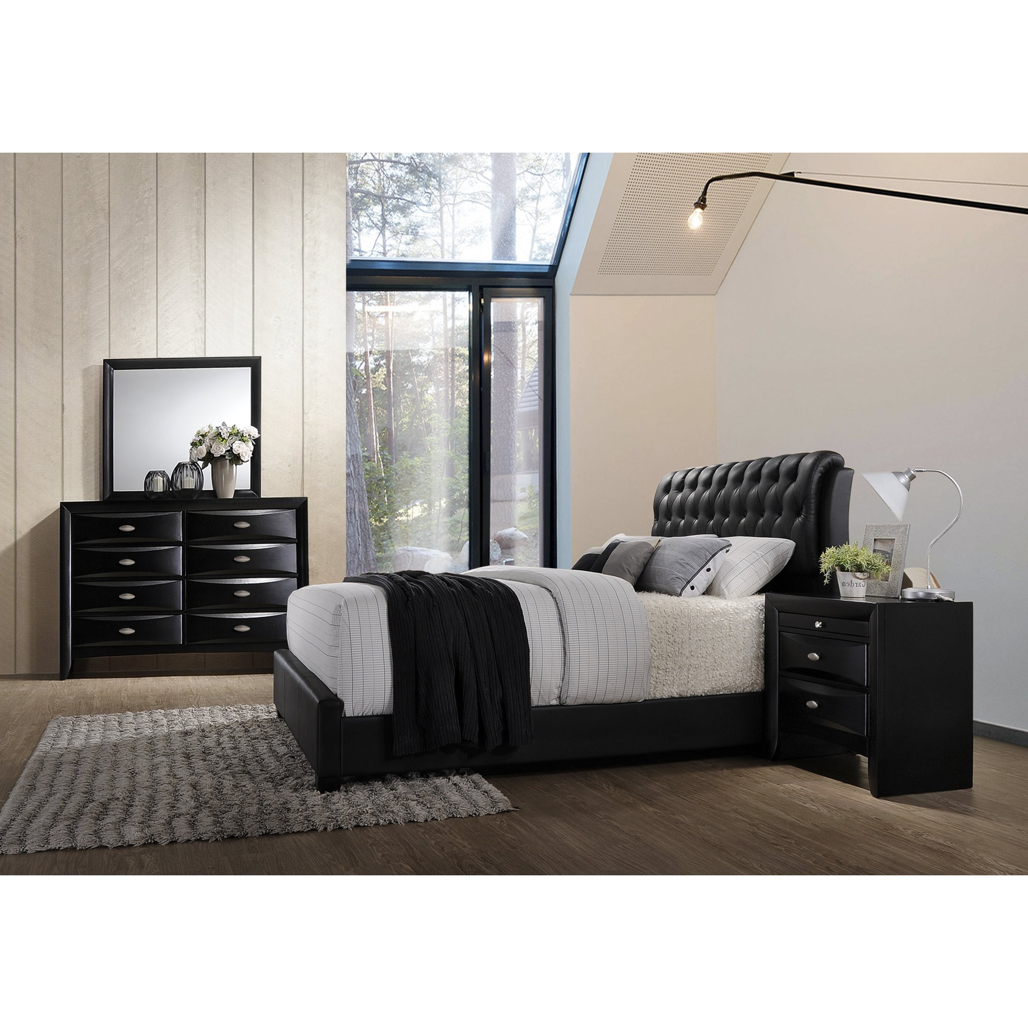 Best ideas about Wayfair Bedroom Sets . Save or Pin Roundhill Furniture Blemerey 4 Piece Bedroom Set Now.