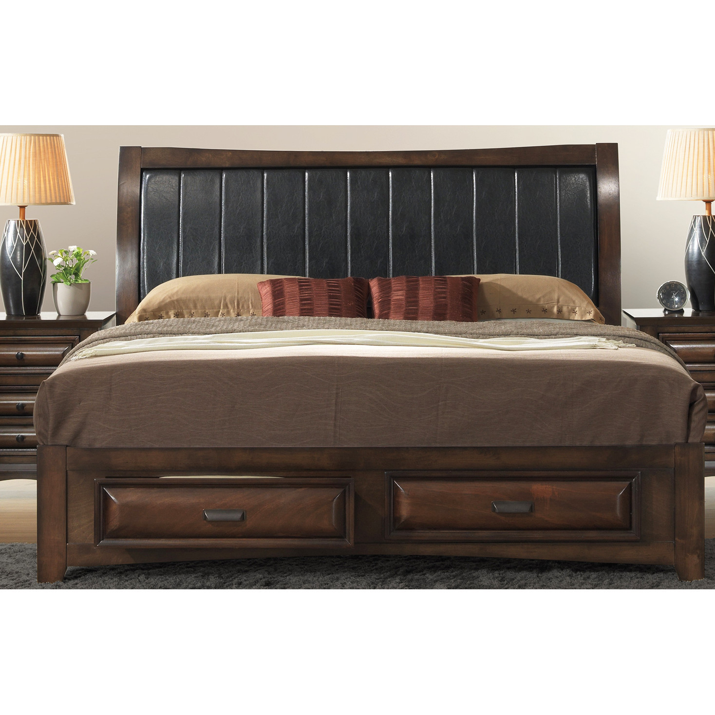 Best ideas about Wayfair Bedroom Sets . Save or Pin Roundhill Furniture Broval Panel 5 Piece Bedroom Set Now.