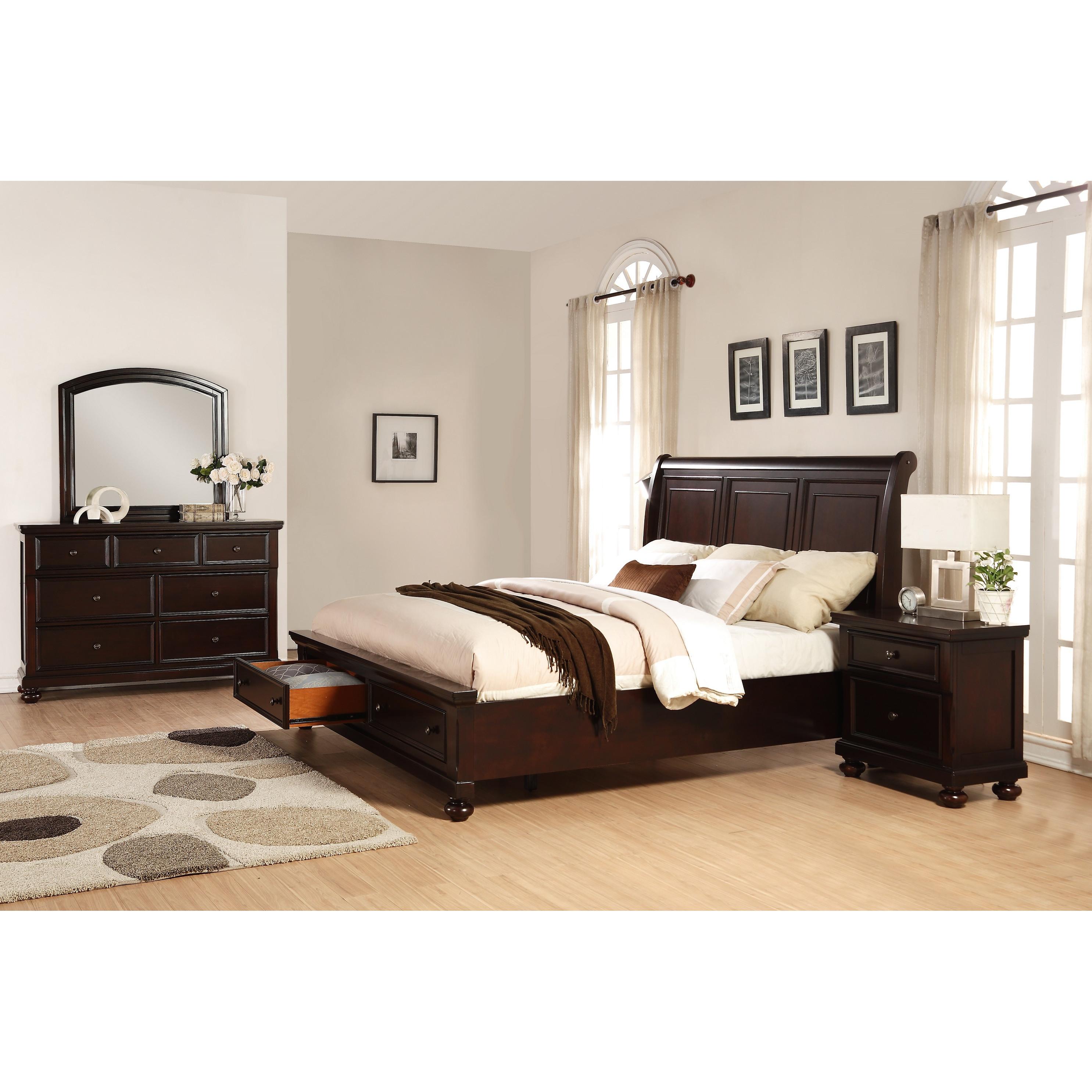 Best ideas about Wayfair Bedroom Sets . Save or Pin Roundhill Furniture Brishland Platform 4 Piece Bedroom Set Now.