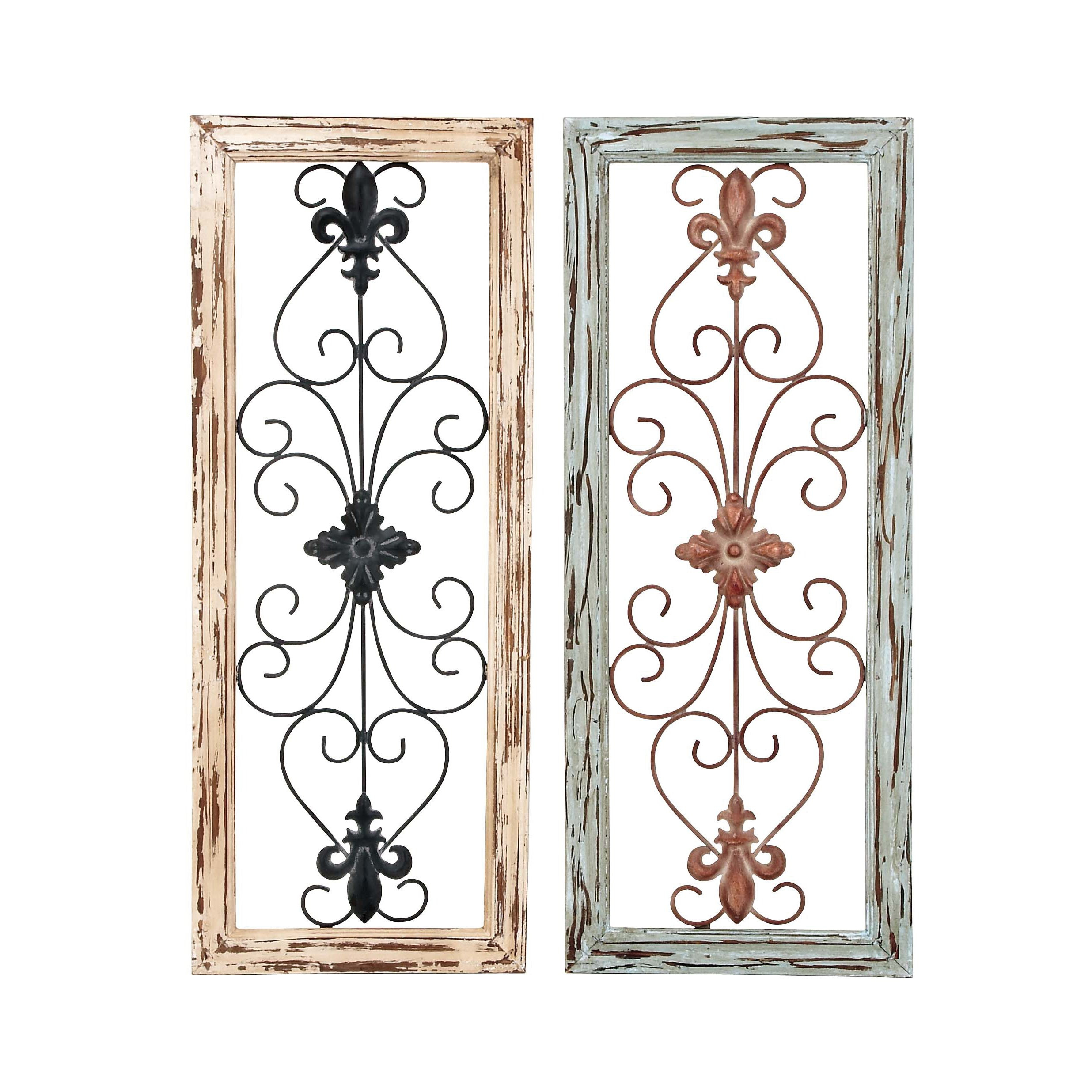 Best ideas about Wayfair Wall Art . Save or Pin Woodland Imports 2 Piece Panel Wall Décor Set & Reviews Now.