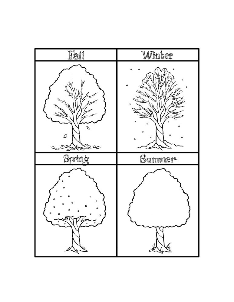 Weather Coloring Pages  Weather Coloring Sheets For Kindergarten spring coloring