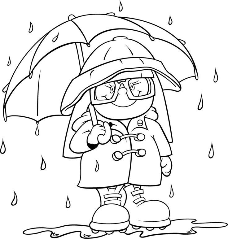 Weather Coloring Pages  Weather Coloring Pages Preschool Coloring Home