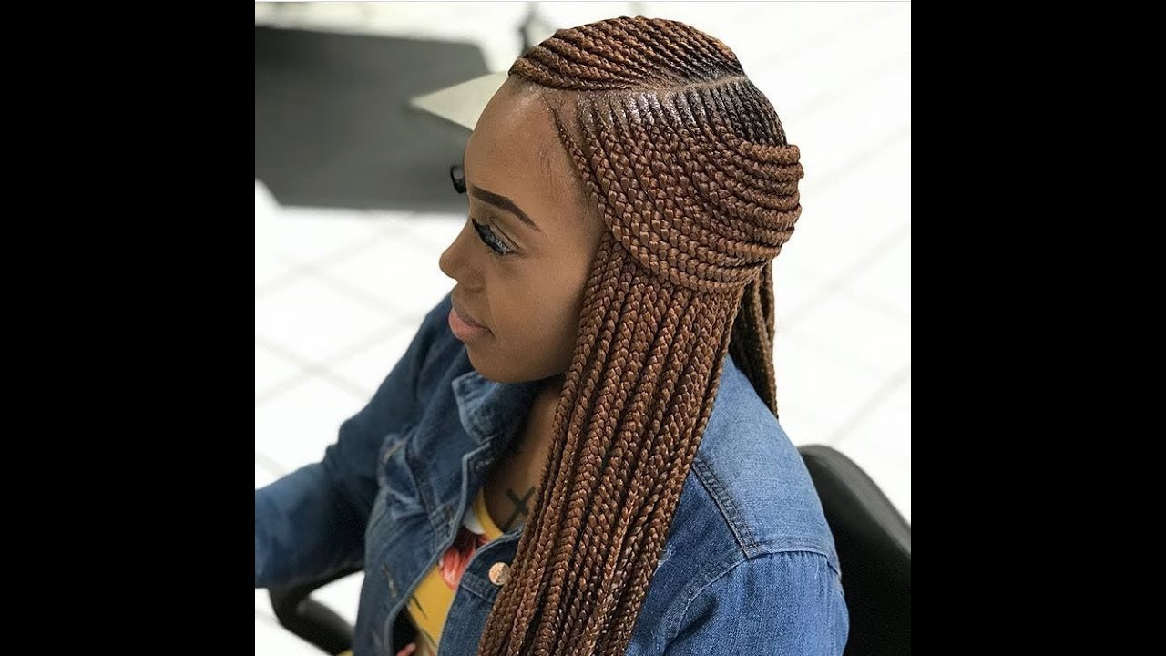 Weave Braid Hairstyles Pictures  2018 Weave Braids Latest Hairstyles You Should Try Next
