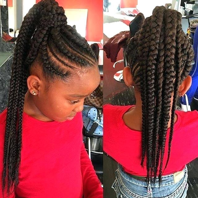 Weave Braids Hairstyles For Kids  Little Girl Hairstyles With Weave HairStyles
