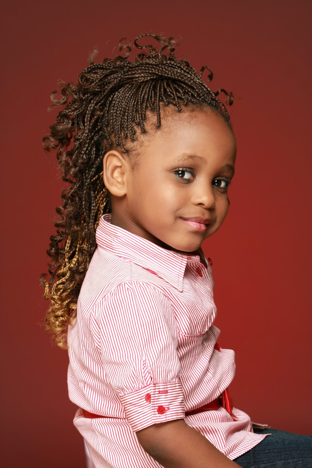 Weave Braids Hairstyles For Kids  20 Hairstyles for Kids with MagMent