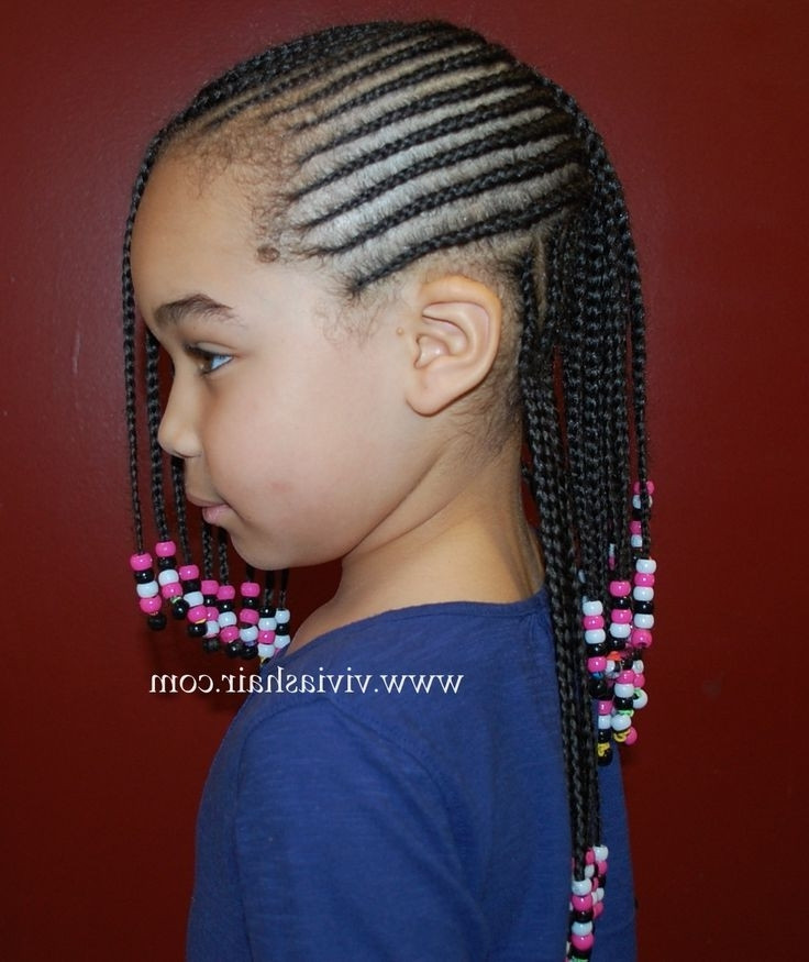 Weave Braids Hairstyles For Kids  Nigeria Hair Styles For Toddler Image