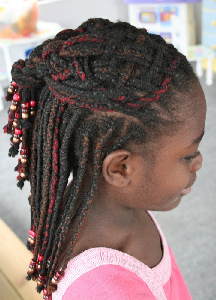 Weave Braids Hairstyles For Kids  of Braided Hairstyles For Kids With Weave