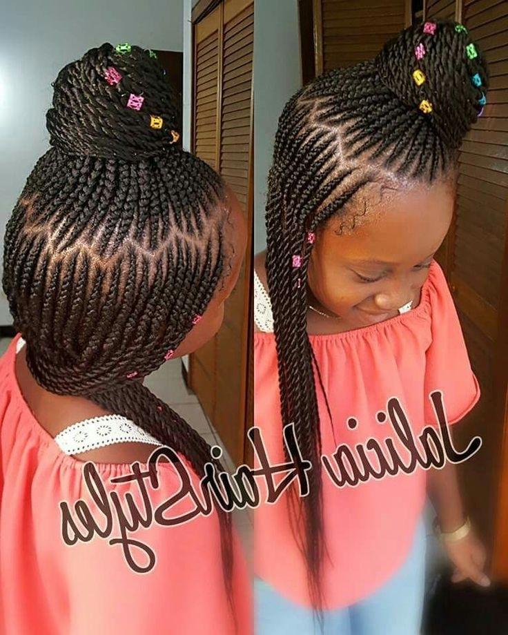 Weave Braids Hairstyles For Kids  Ghana Weaving Hairstyles For Children Dream