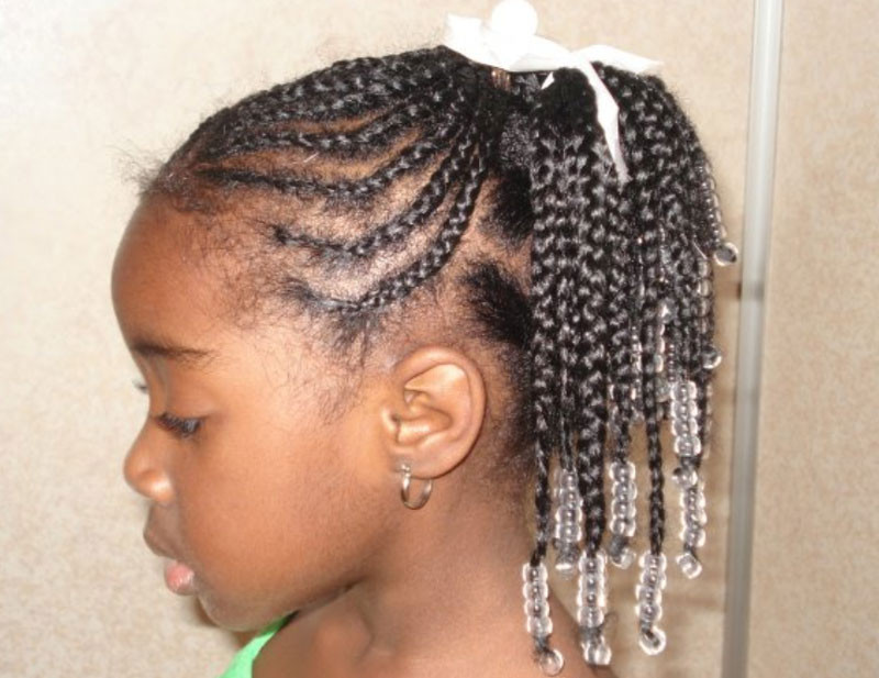 Weave Braids Hairstyles For Kids  African American children hairstyles – Braids Weaves