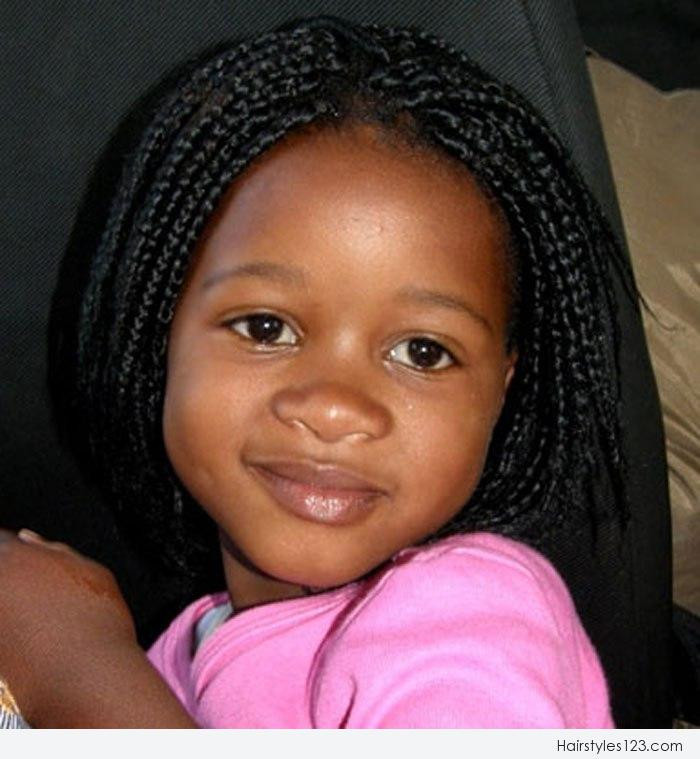 Weave Braids Hairstyles For Kids  Cornrow Hairstyles