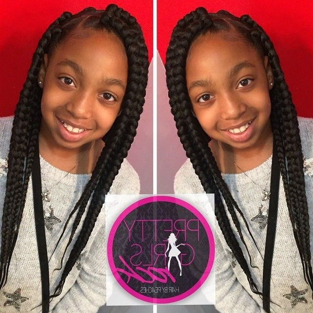Weave Braids Hairstyles For Kids  Kids With Weave Braiding Hairstyles View