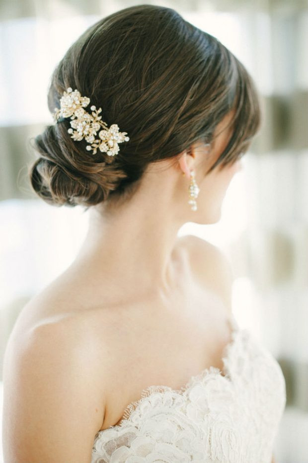 Best ideas about Wedding Bride Hairstyle . Save or Pin Bridal Hairstyles 18 Beautiful Ideas for Spring and Now.