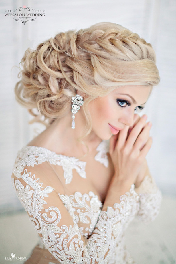 Best ideas about Wedding Bride Hairstyle . Save or Pin Glamorous Wedding Hairstyles Belle The Magazine Now.