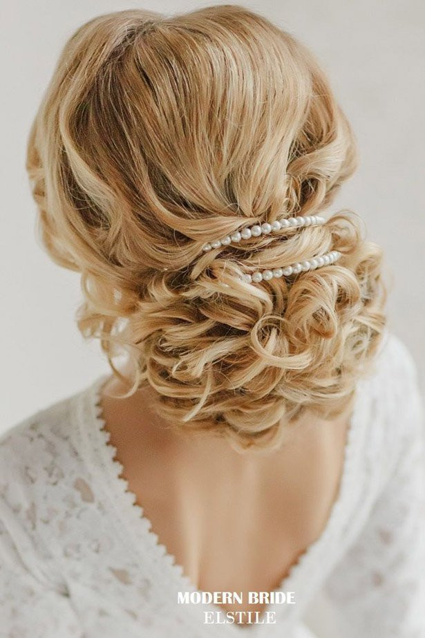 Best ideas about Wedding Bride Hairstyle . Save or Pin 23 Glamorous Bridal Hairstyles with Flowers Pretty Designs Now.