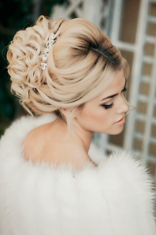 Best ideas about Wedding Bride Hairstyle . Save or Pin Best Wedding Hairstyles of 2014 Belle The Magazine Now.