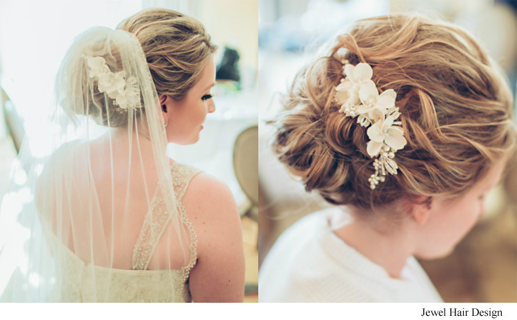 Best ideas about Wedding Bride Hairstyle . Save or Pin Romantic Bridal Hair and Makeup s Hair es the Now.