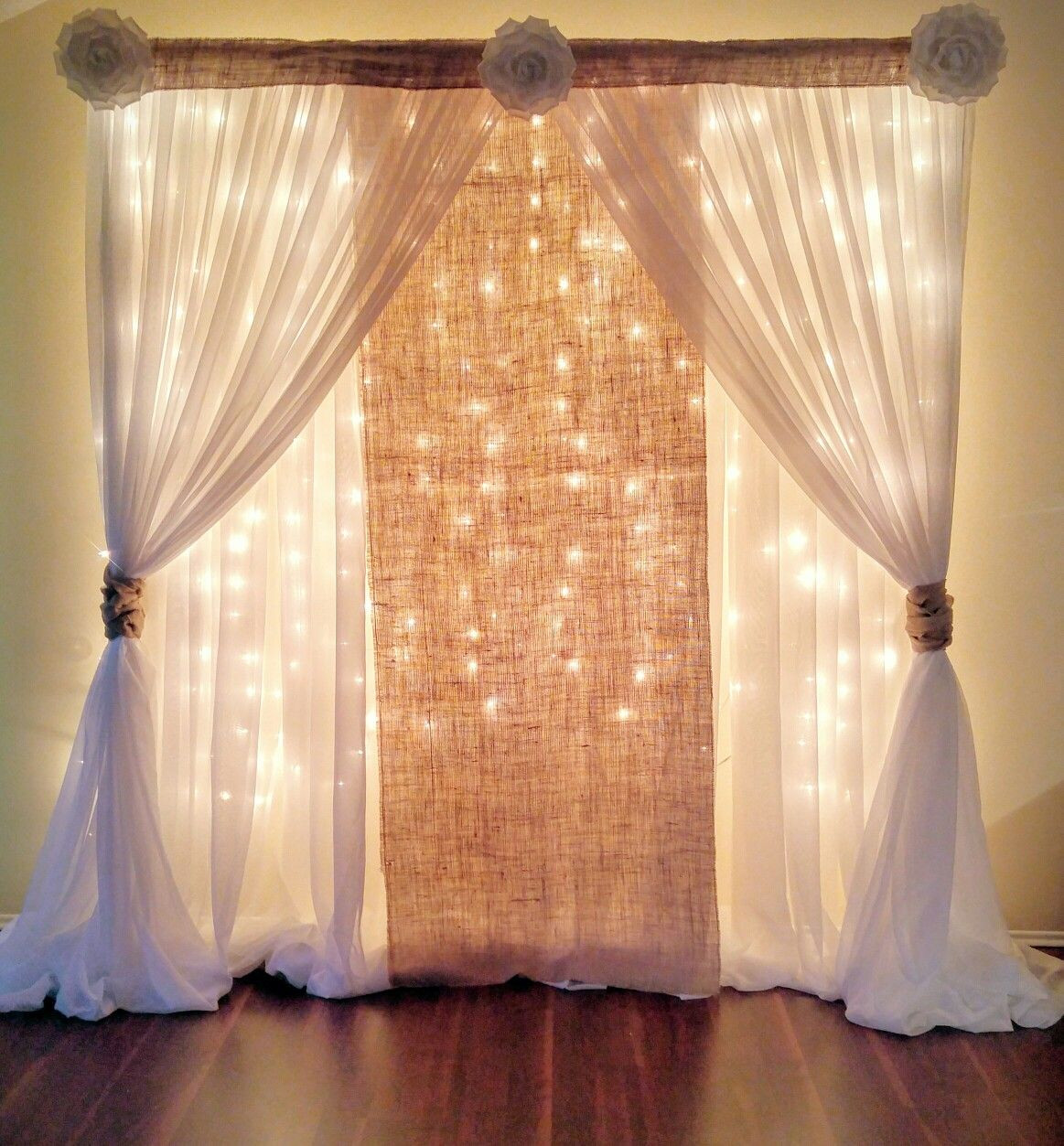 Best ideas about Wedding Drapes DIY . Save or Pin Breathtaking 44 Unique & Stunning Wedding Backdrop Ideas Now.