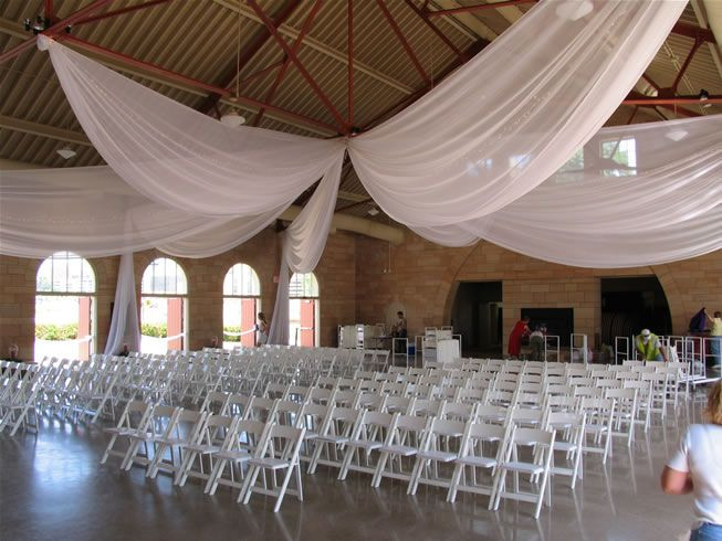 Best ideas about Wedding Drapes DIY . Save or Pin ways to swag pipe and drape backdrop Now.