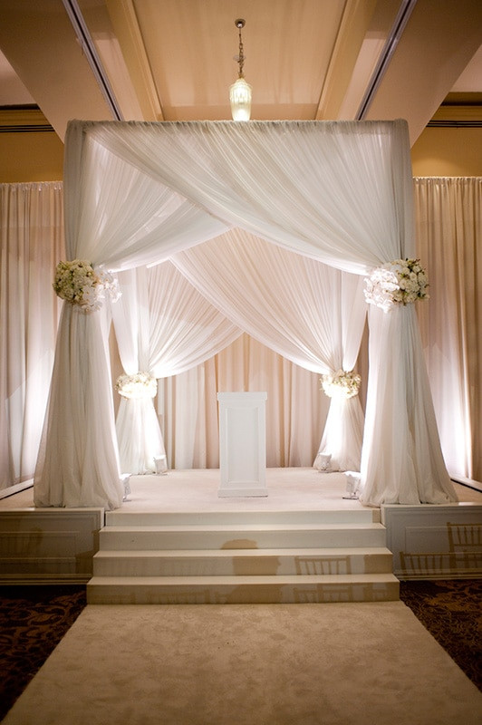 Best ideas about Wedding Drapes DIY . Save or Pin Free Shipping 3M 3M 3M white color square canopy drape Now.