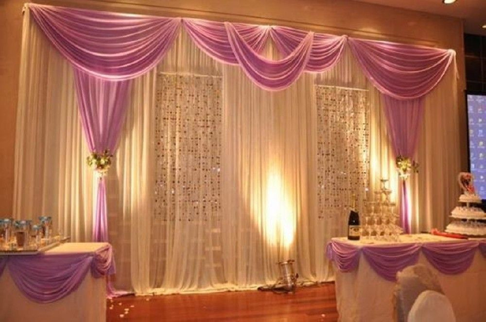 Best ideas about Wedding Drapes DIY . Save or Pin wedding pipe and drape curtains Now.