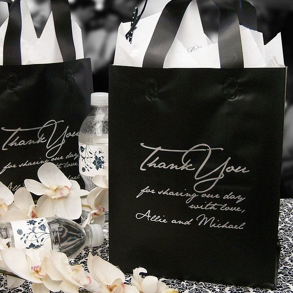 Best ideas about Wedding Gift Bag Ideas . Save or Pin Personalized Wedding Gift Bags Now.