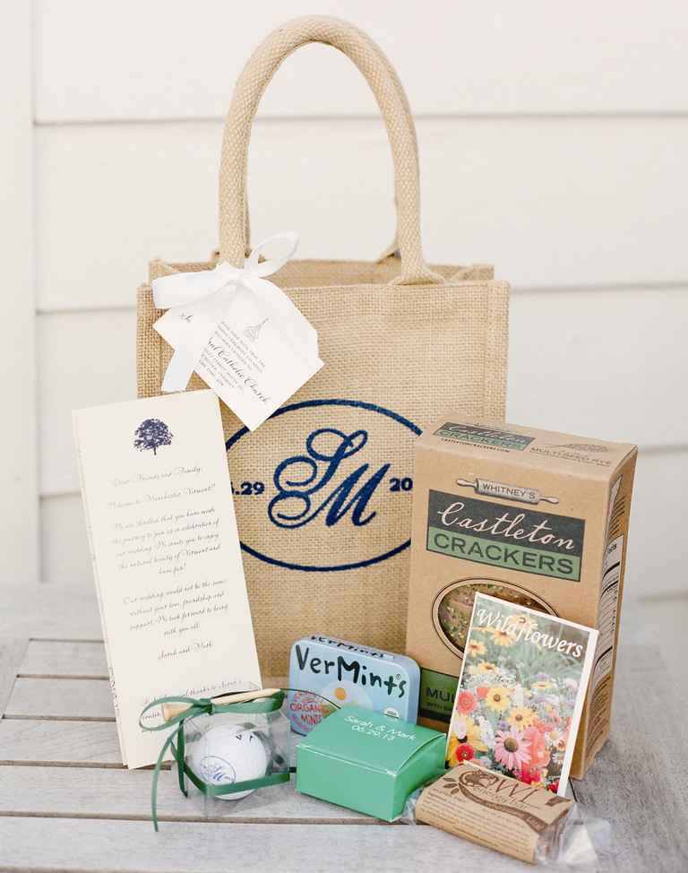 Best ideas about Wedding Gift Bag Ideas . Save or Pin Our Favorite Wedding Wel e Bag Ideas Now.